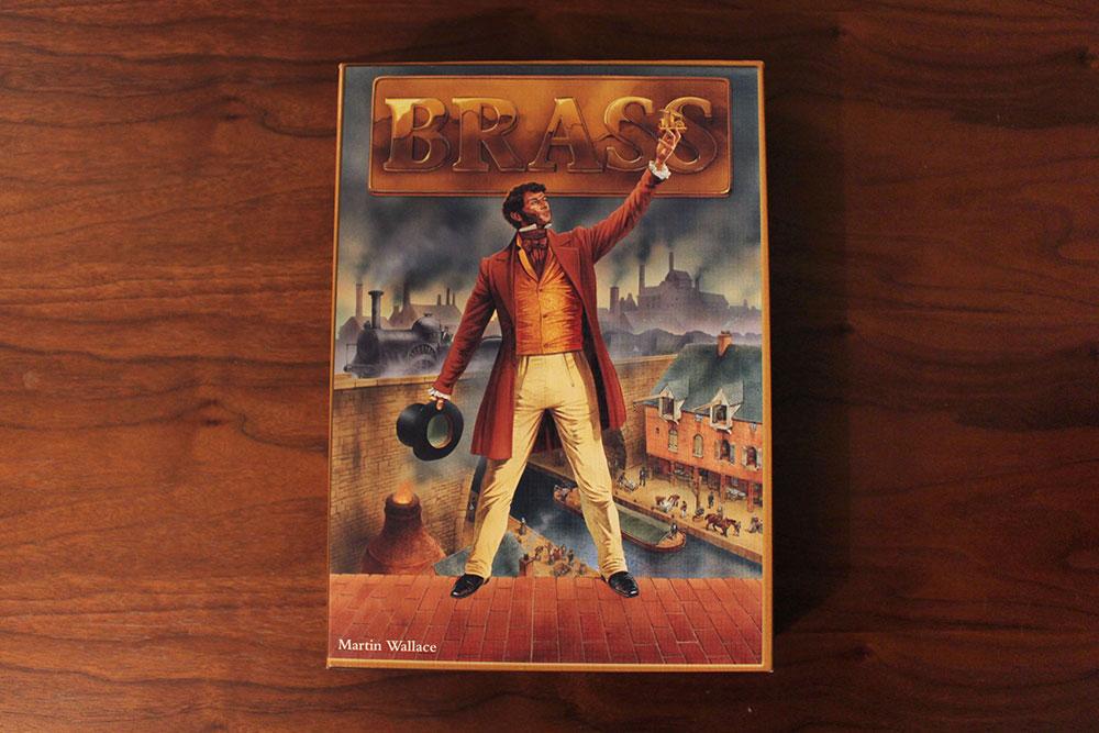 ボードゲーム「BRASS」の箱表面