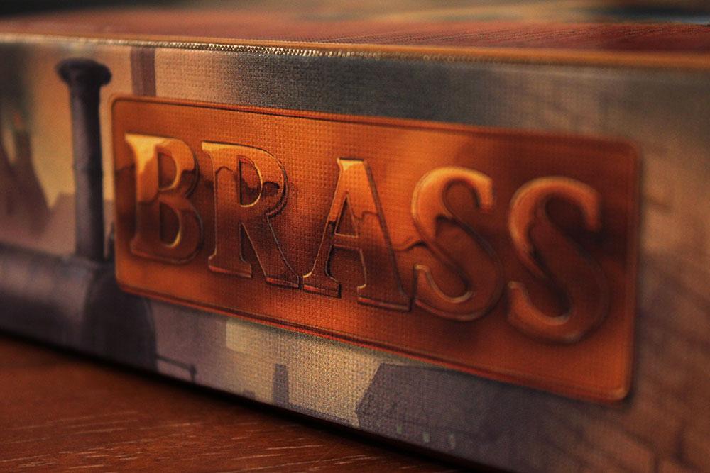 ボードゲーム「BRASS」のロゴ拡大