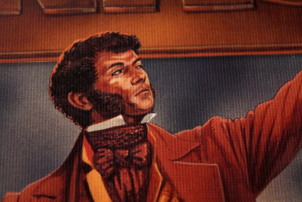 ボードゲーム「BRASS」の箱の人物の顔
