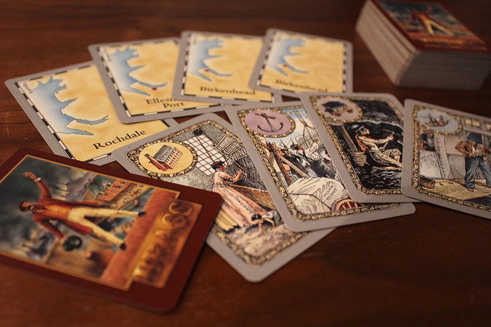 ボードゲーム「BRASS」のカード