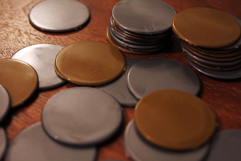 ボードゲーム「BRASS」のコイン