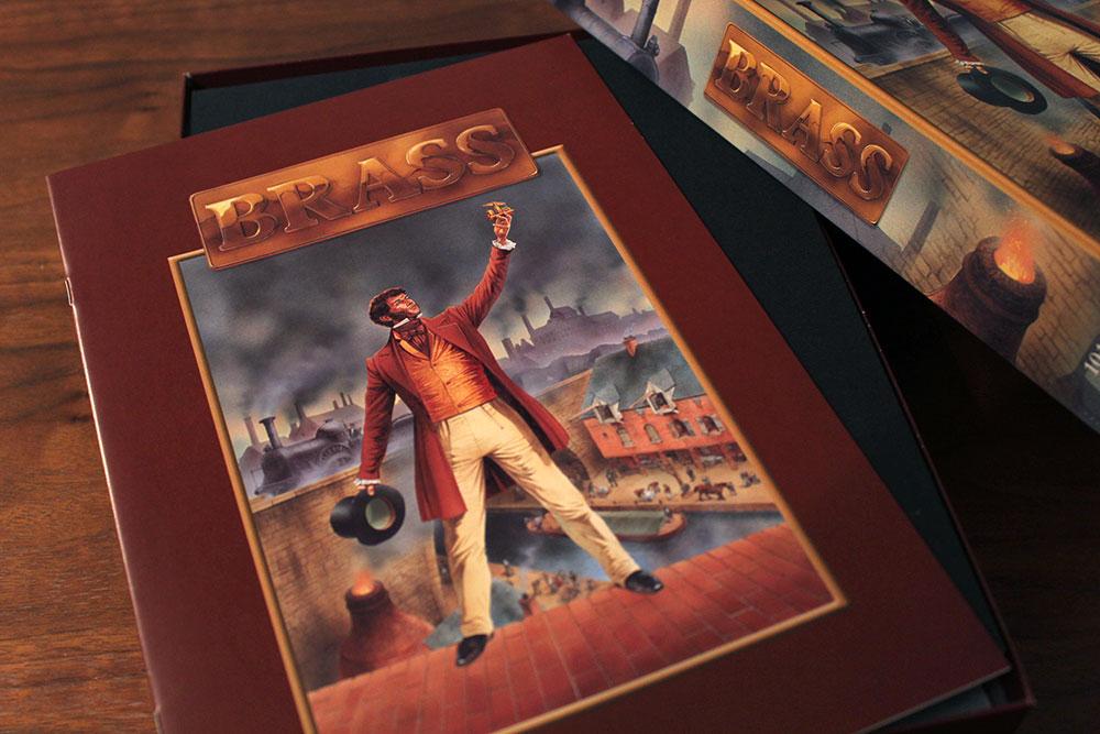 ボードゲーム「BRASS」の箱開封