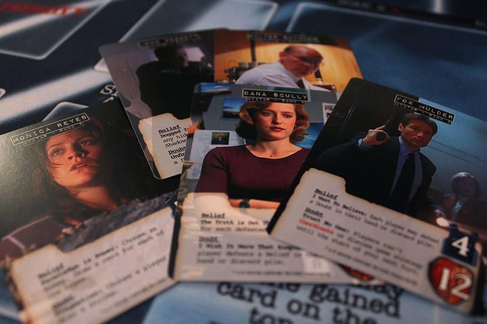ボードゲーム「Legendary Encounters: The X-Files」のアバターカード