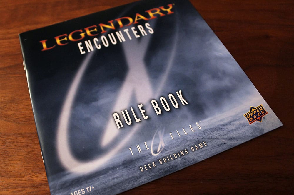 ボードゲーム「Legendary Encounters: The X-Files」のルールブック