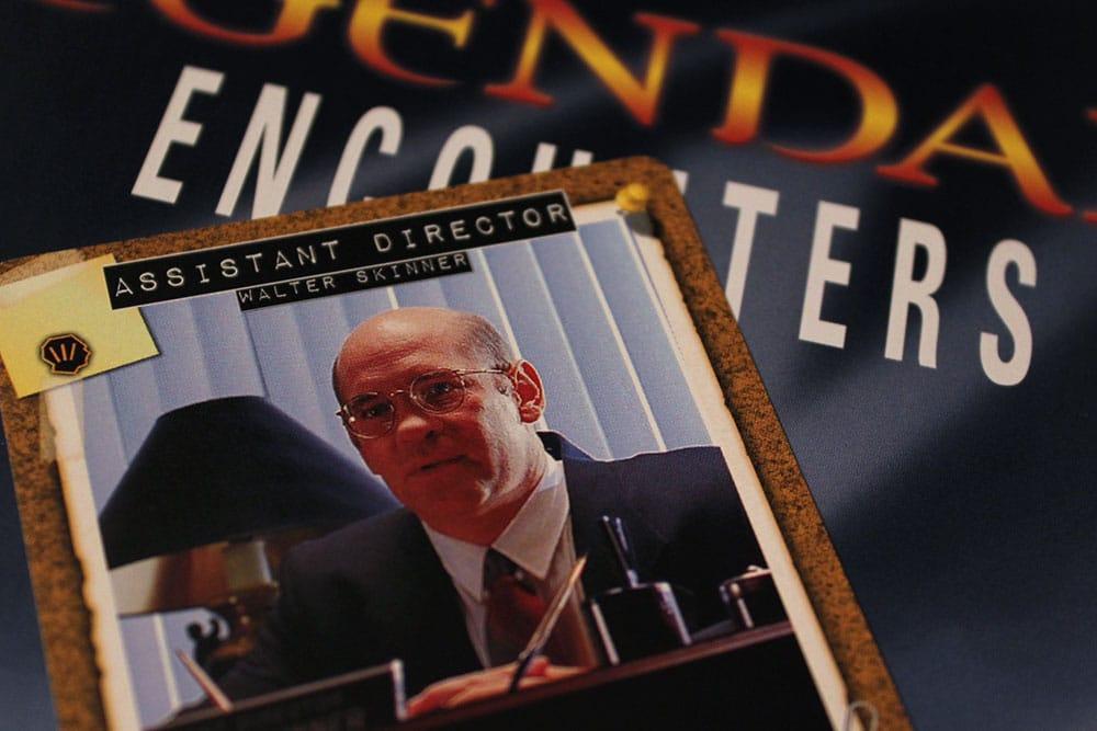 ボードゲーム「Legendary Encounters: The X-Files」のスキナーのカード