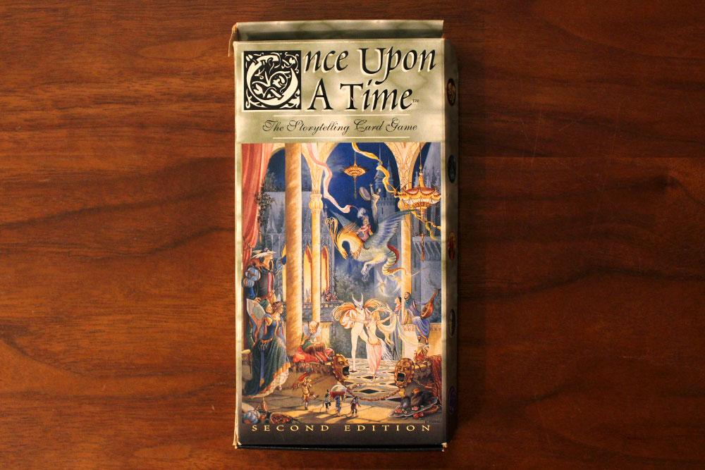 ボードゲーム「Once Upon A Time」の箱表面