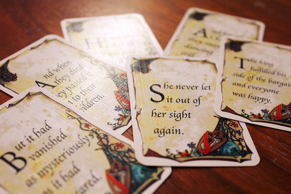 ボードゲーム「Once Upon A Time」の結末カード