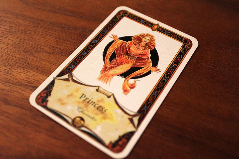 ボードゲーム「Once Upon A Time」のお姫様カード