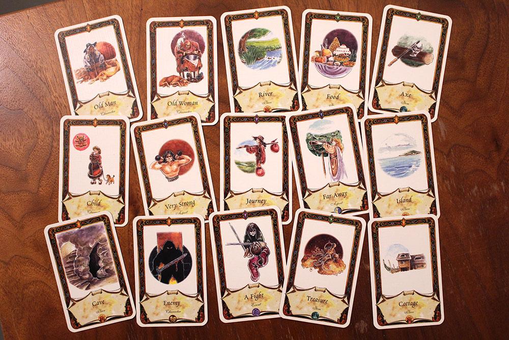 ボードゲーム「Once Upon A Time」のクイズ2