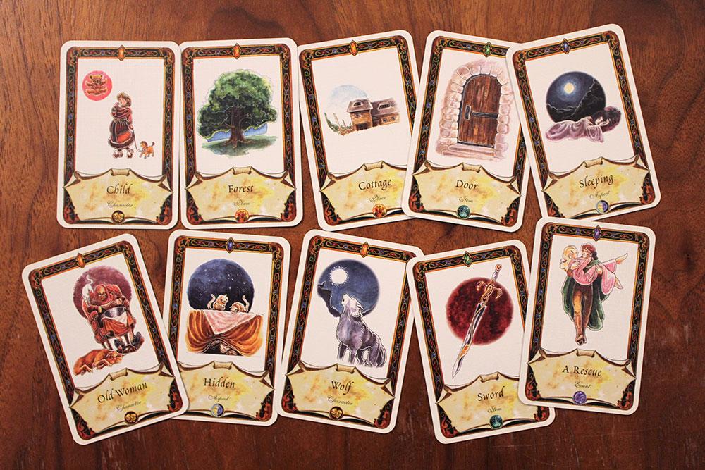 ボードゲーム「Once Upon A Time」のクイズ1
