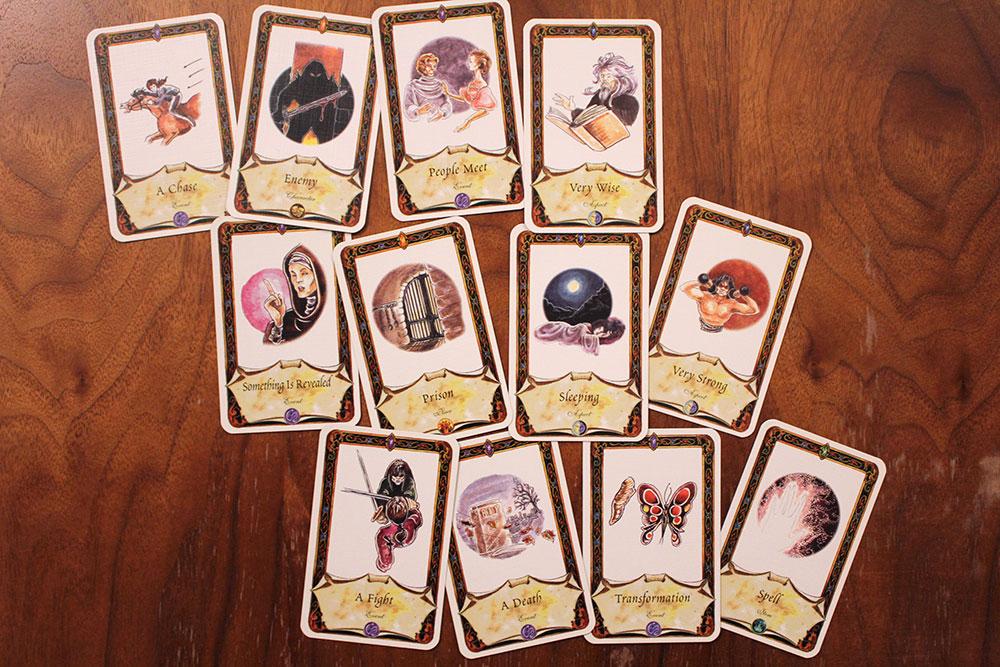 ボードゲーム「Once Upon A Time」のクイズ3