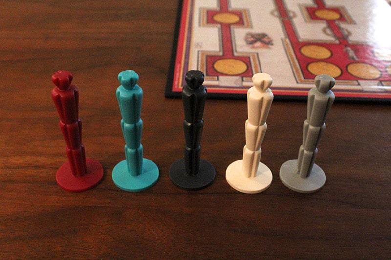 ボードゲーム「QUO VADIS?」のコマ