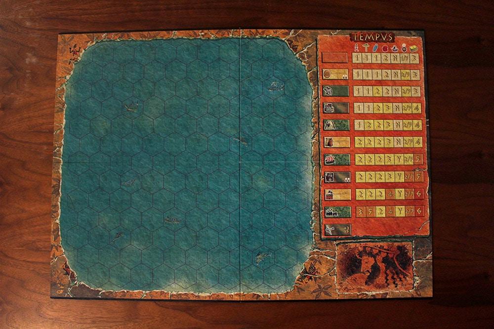 ボードゲーム「TEMPUS」のボード
