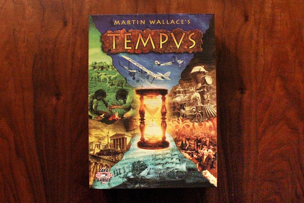 ボードゲーム「TEMPUS」の箱表面
