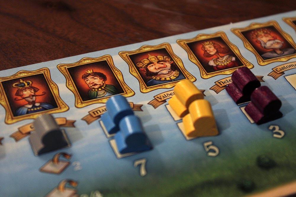 ボードゲーム「Tumult Royale」の年代記