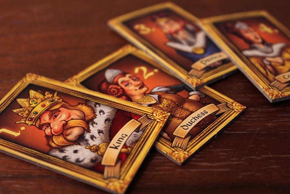 ボードゲーム「Tumult Royale」の王様