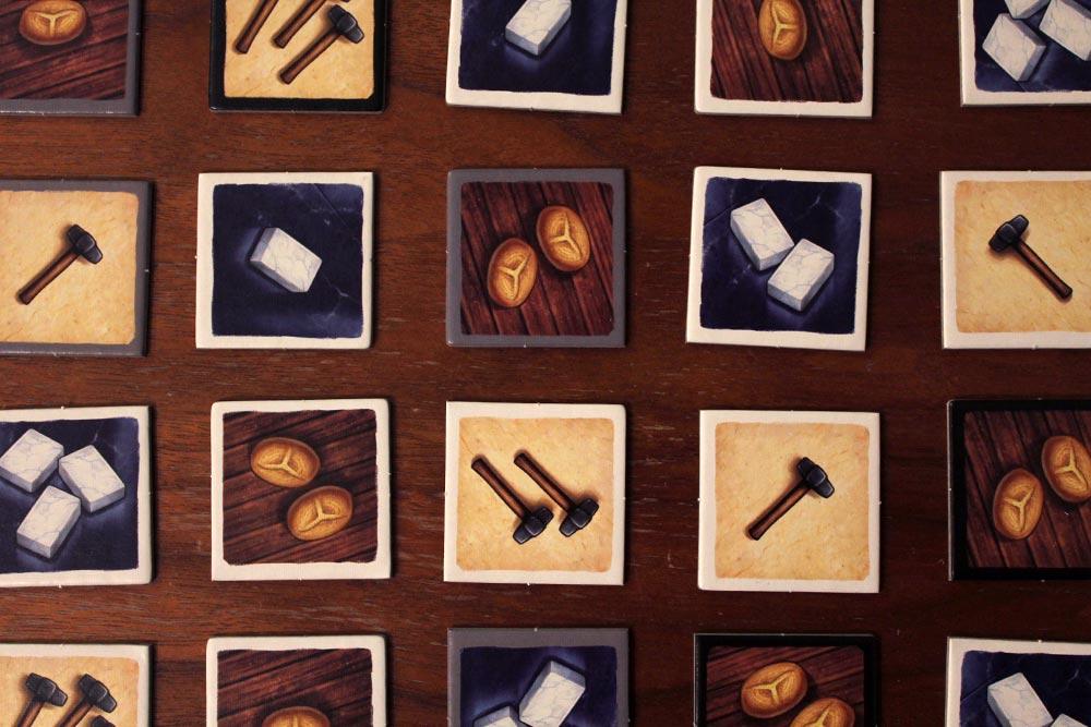 ボードゲーム「Tumult Royale」の商品タイル