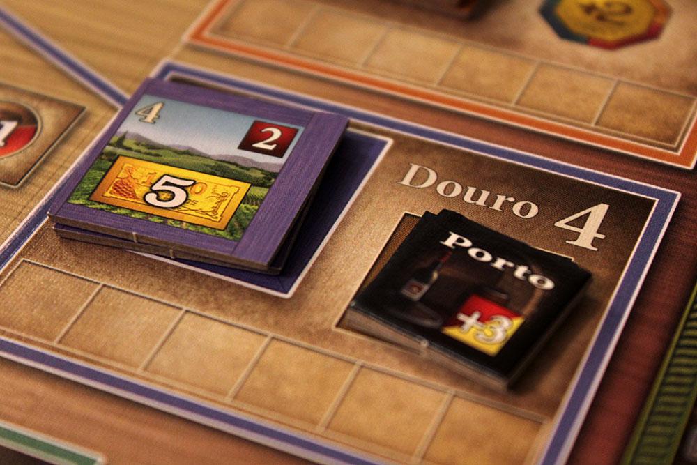 ボードゲーム「VINHOS」のワイン「ドウロ」