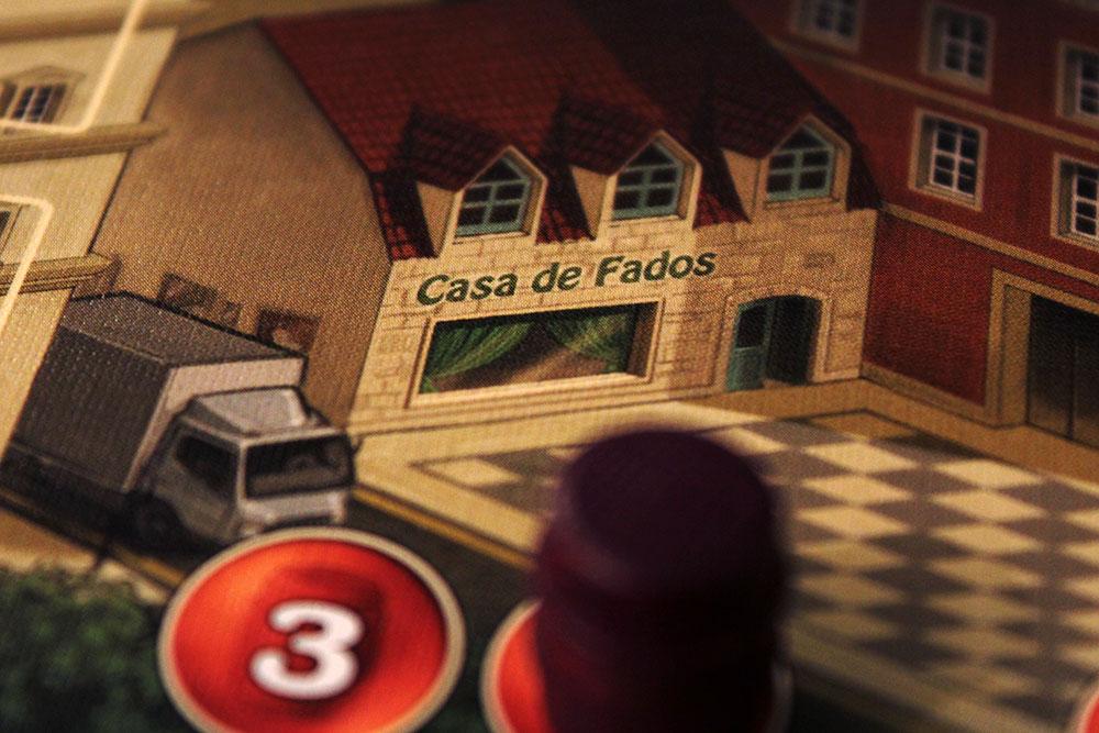 ボードゲーム「VINHOS」のレストランへの出荷