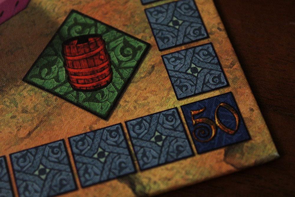 ボードゲーム「Yspahan」のボード拡大2