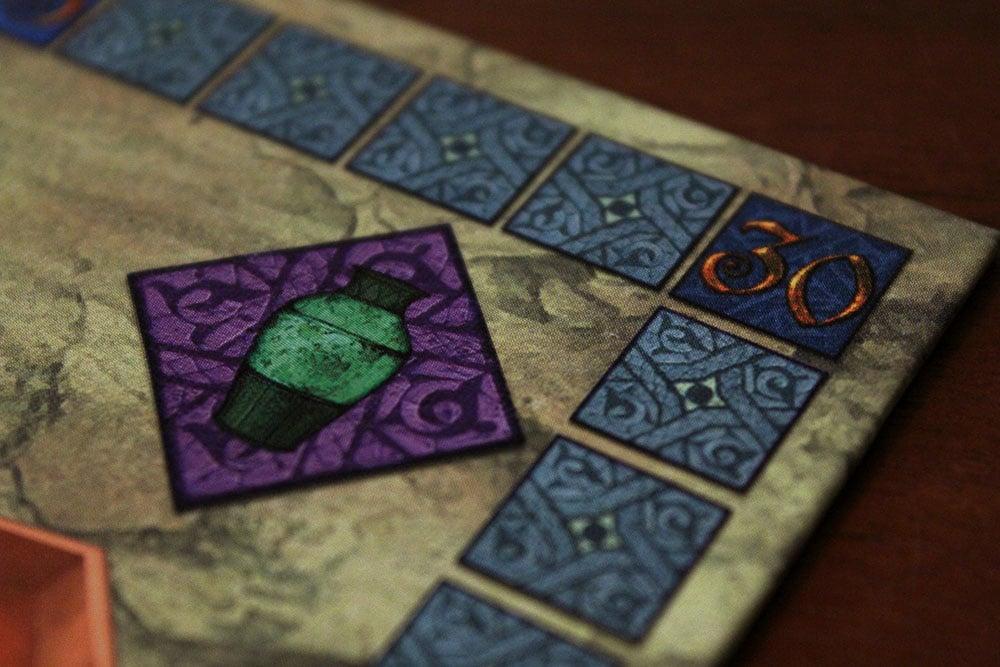 ボードゲーム「Yspahan」のボード拡大1