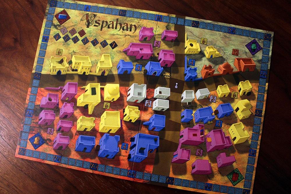 ボードゲーム「Yspahan」のメインボード
