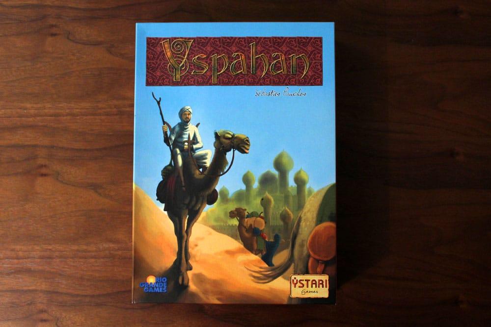 ボードゲーム「Yspahan」の箱表面