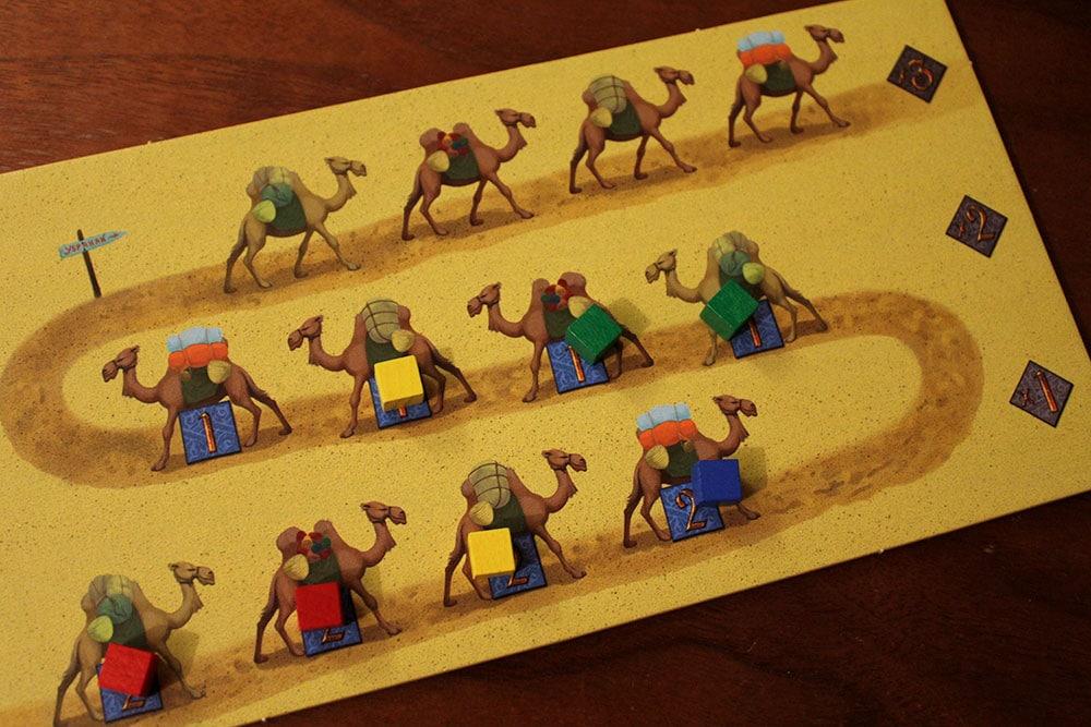 ボードゲーム「Yspahan」のカード