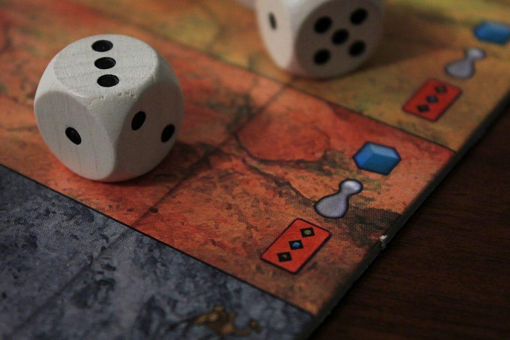 ボードゲーム「Yspahan」のタワーボード拡大