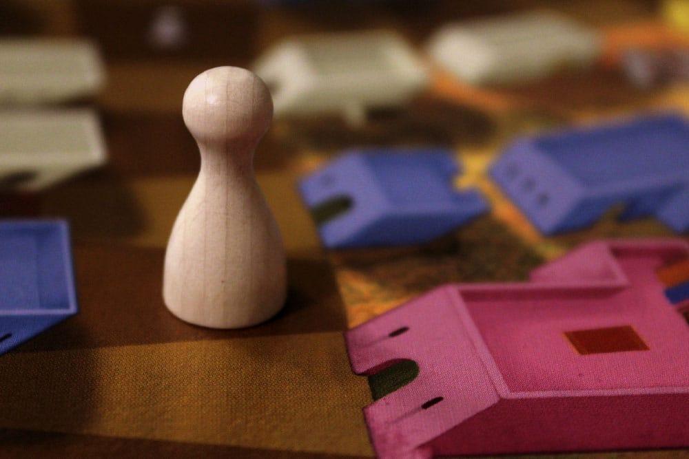 ボードゲーム「Yspahan」の役人コマ