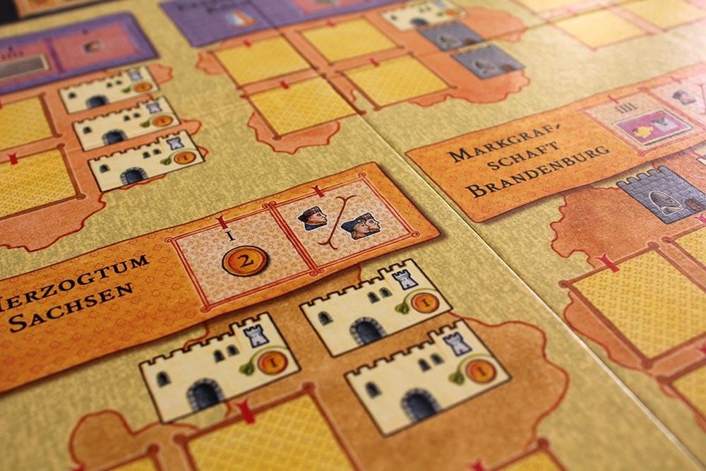 ボードゲーム「皇帝の影」の選帝候国