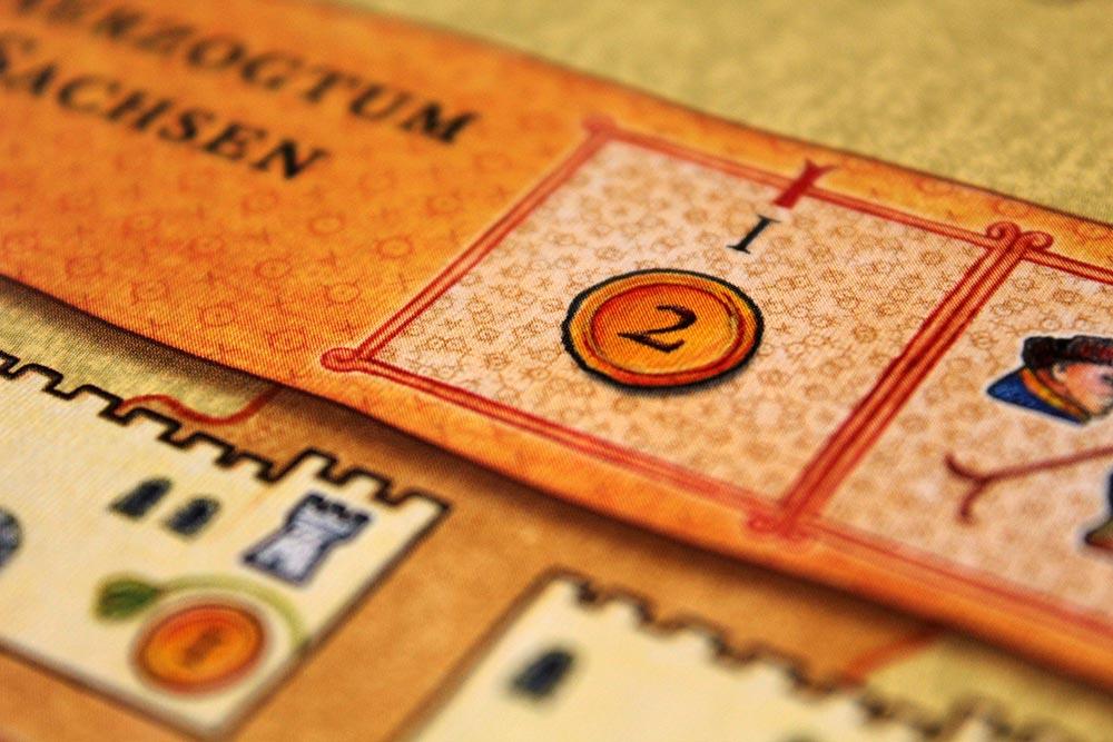 ボードゲーム「皇帝の影」の選帝候