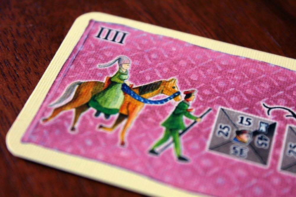 ボードゲーム「皇帝の影」のアクションカード