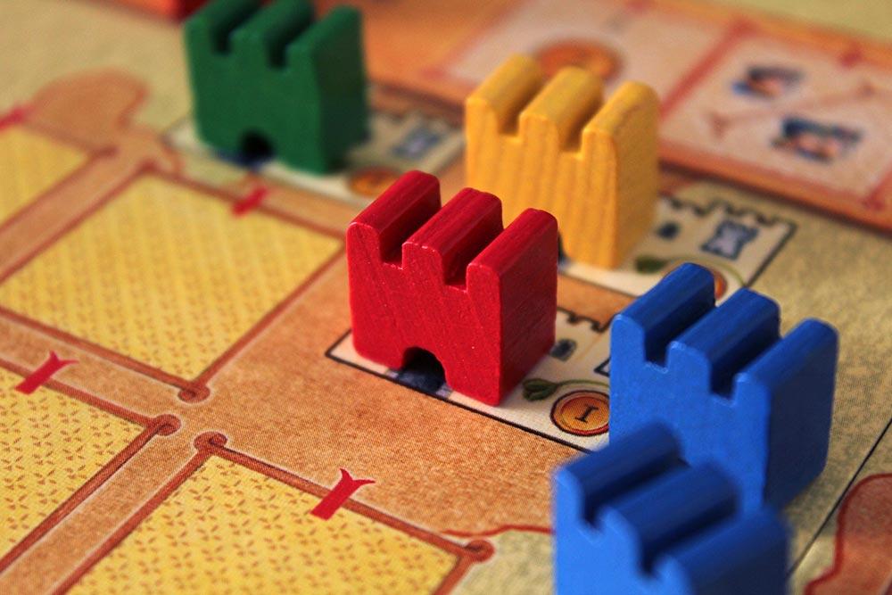 ボードゲーム「皇帝の影」の都市