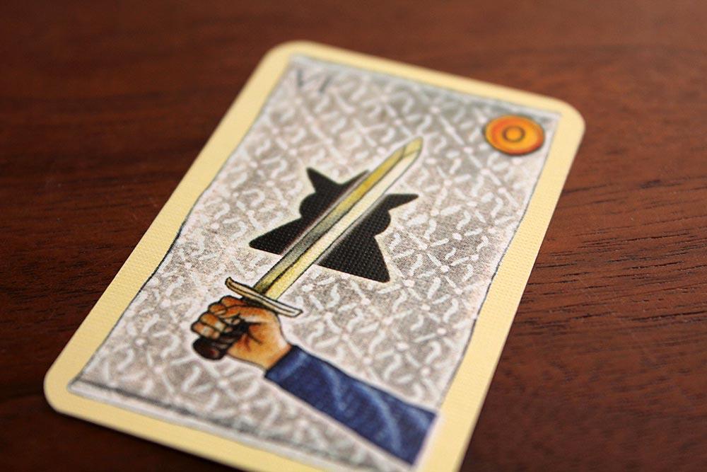 ボードゲーム「皇帝の影」のライバルカード