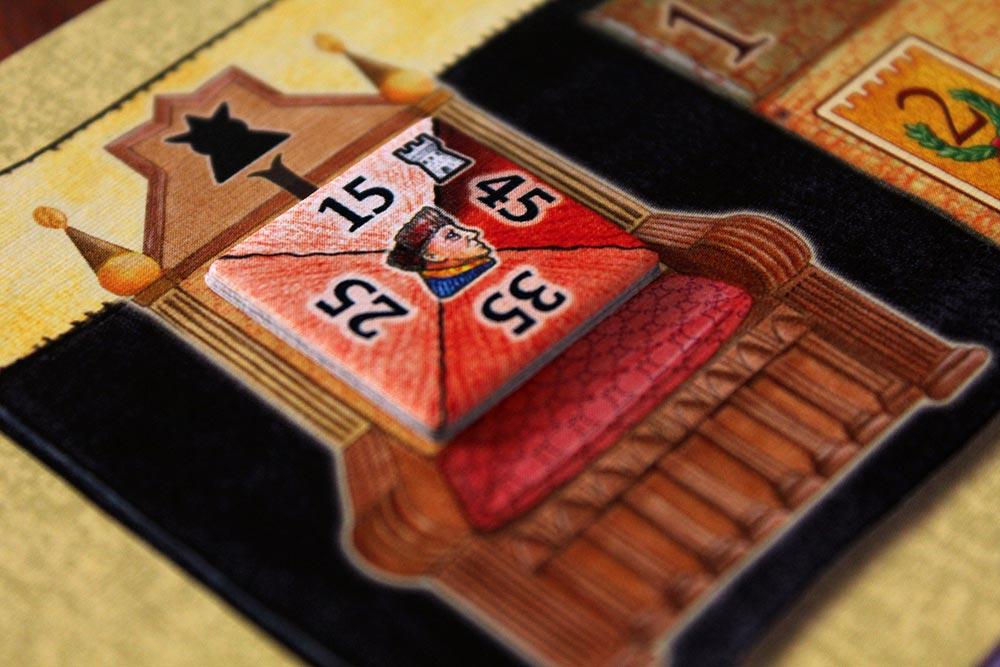ボードゲーム「皇帝の影」の玉座