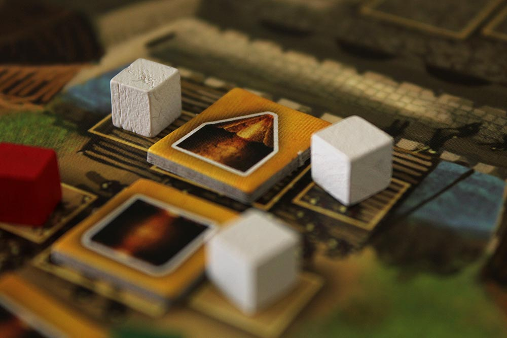 ボードゲーム「Stronghold」の破城槌