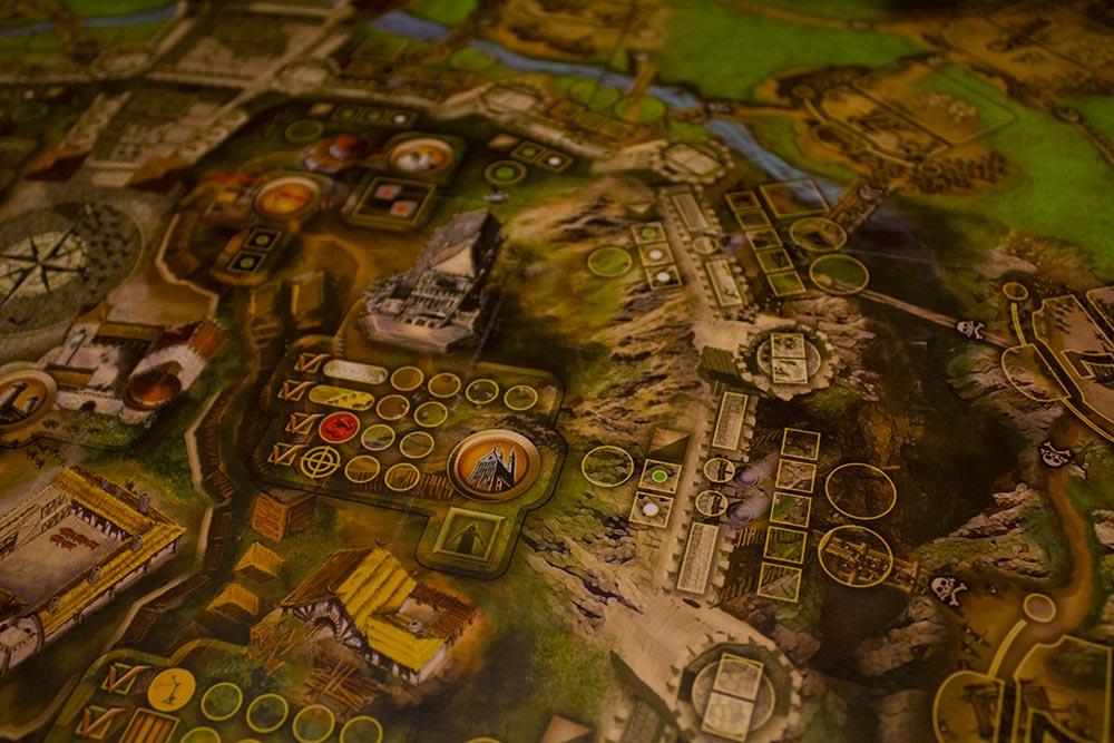 ボードゲーム「Stronghold」のボード