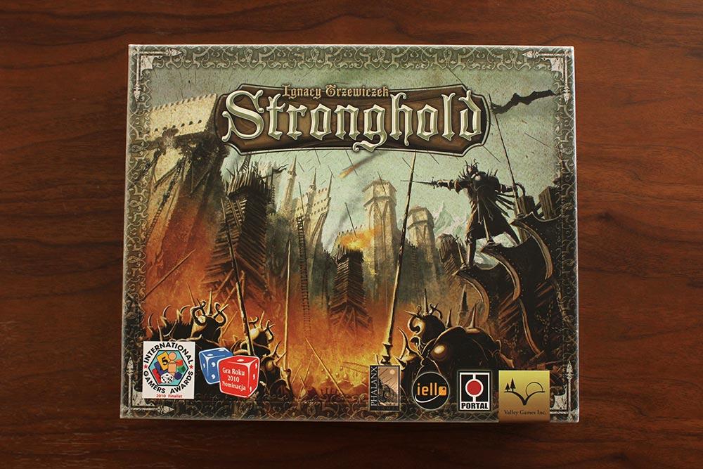 ボードゲーム「Stronghold」の箱表面