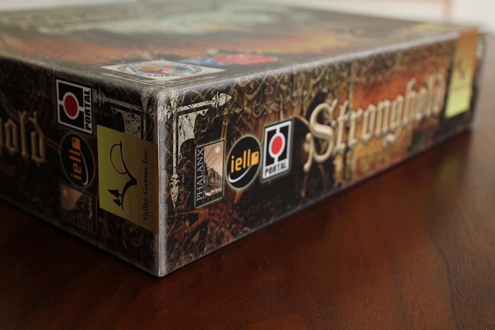 ボードゲーム「Stronghold」の箱側面