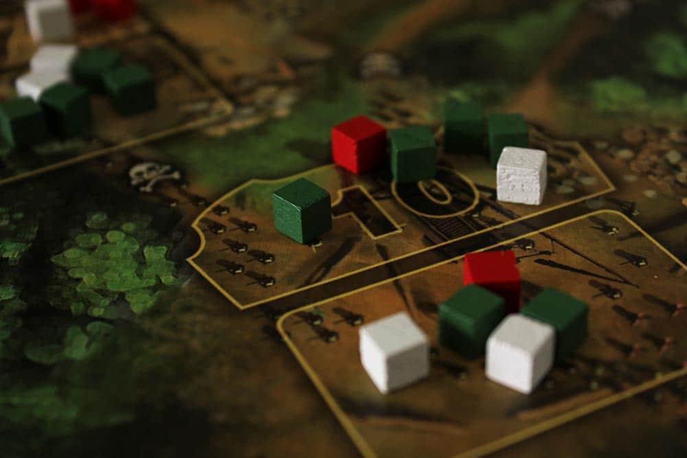 ボードゲーム「Stronghold」の前線