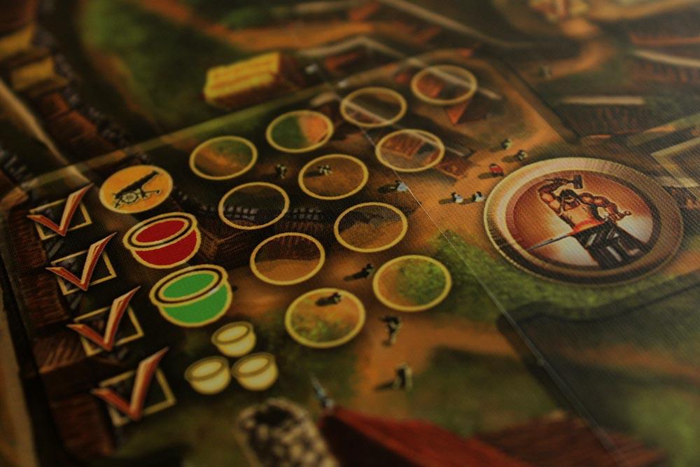 ボードゲーム「Stronghold」の鍛冶場