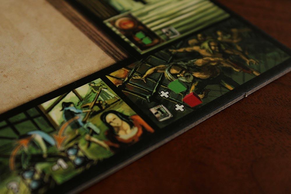 ボードゲーム「Stronghold」の栄光ボード