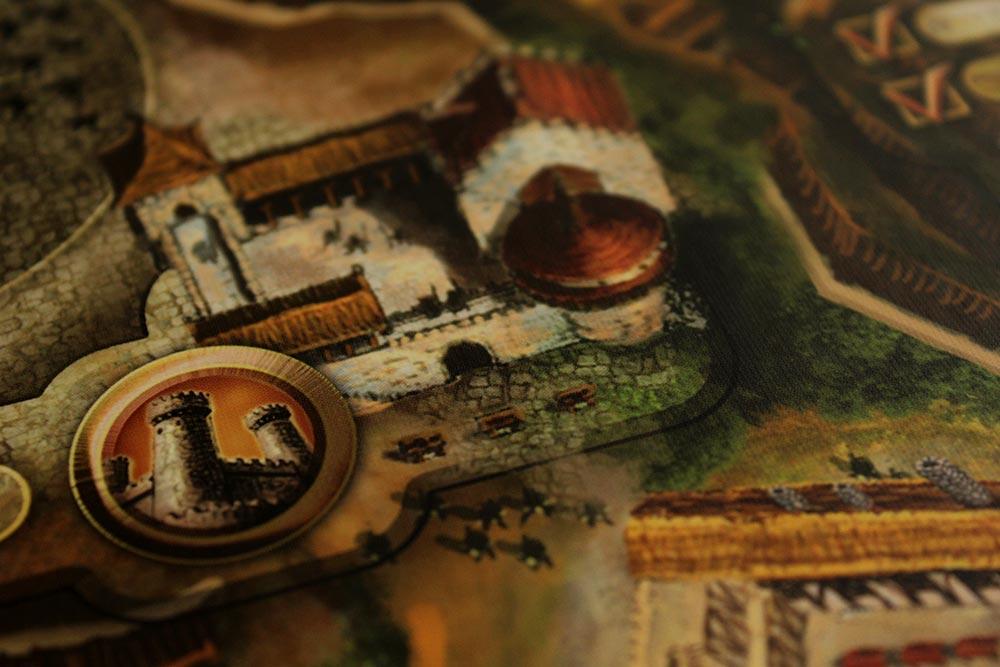 ボードゲーム「Stronghold」の見張り塔