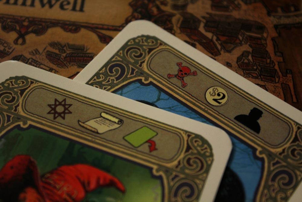 ボードゲーム『ディスクワールド: アンク・モルポーク』のカードシンボル