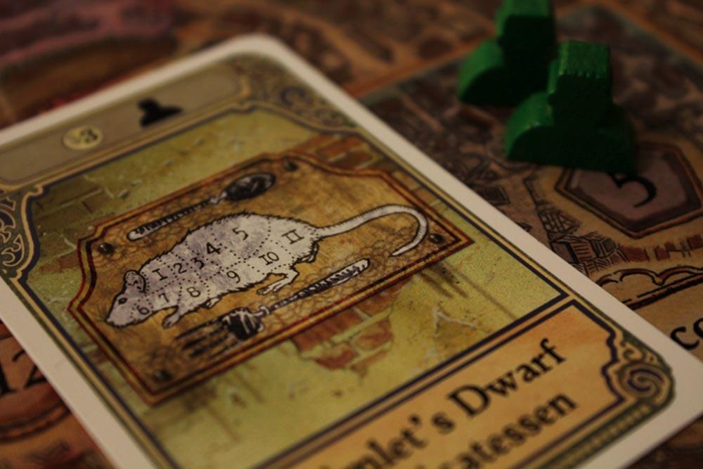ボードゲーム『ディスクワールド: アンク・モルポーク』のデリカッセンのカード