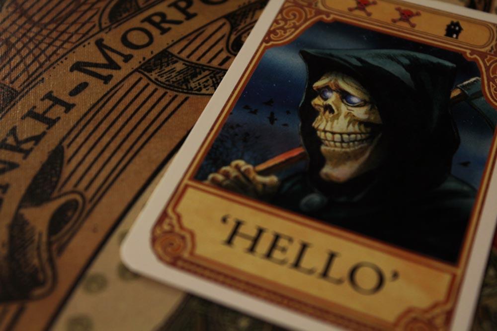 ボードゲーム『ディスクワールド: アンク・モルポーク』の死神カード