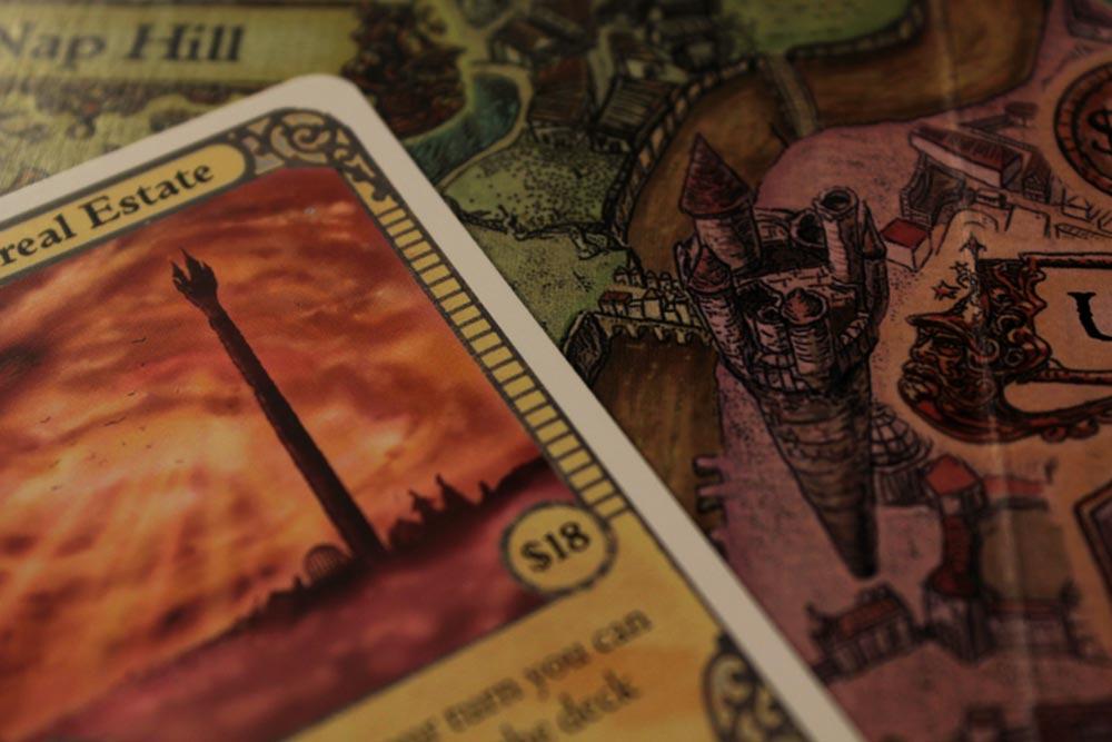 ボードゲーム『ディスクワールド: アンク・モルポーク』の塔