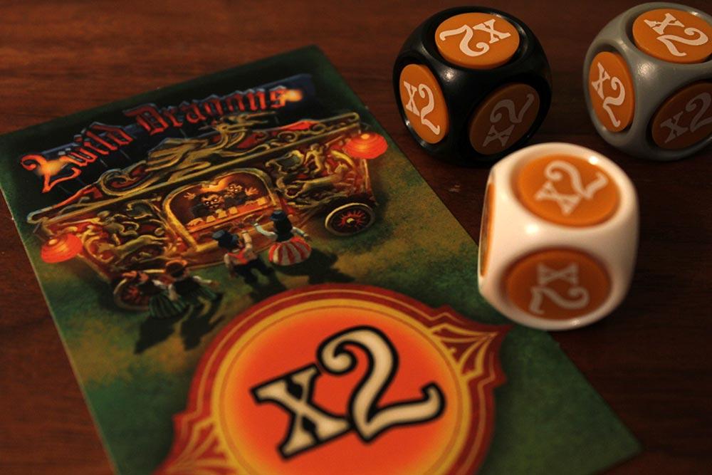 ボードゲーム「ラットルボーン」の×2