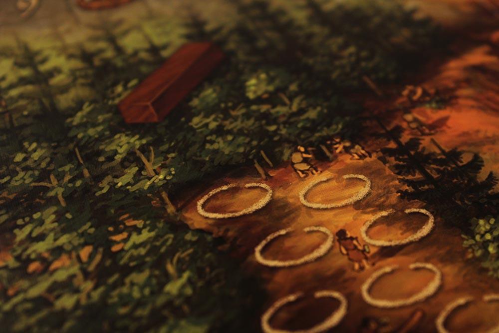 ボードゲーム「ストーンエイジ」の木材